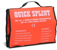Kit de 4 attelles d'urgence Quick Splint PNE244