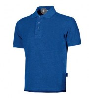 POLO DE TRAVAIL STREET BLUE COBALT U-POWER ENJOY
