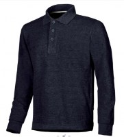 POLO MANCHES LONGUES DE TRAVAIL AVENUE DEEP BLUE U-POWER ENJOY