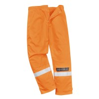 Pantalon de travail Bizflame Plus orange PORTWEST