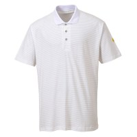 Polo antistatique ESD Blanc PORTWEST