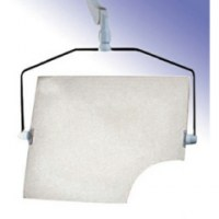 Suspensions et bavolets protection radiologique suspension complète euroshield Anti-x 80x60cm soluprotech
