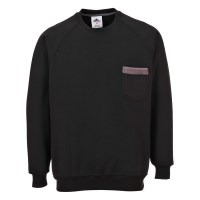Sweater Texo noir PORTWEST