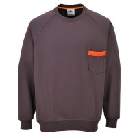 Sweater Texo gris PORTWEST