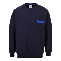Sweater Texo marine PORTWEST
