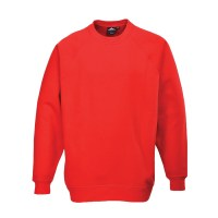 Sweatshirt Roma rouge PORTWEST