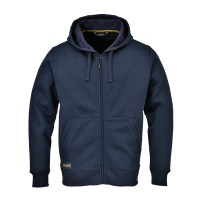 Sweatshirt zippé à capuche Nickel marine PORTWEST