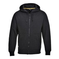 Sweatshirt zippé à capuche Nickel noir PORTWEST
