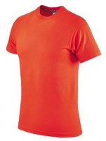 T-SHIRT ORANGE COTON 145 Soluprotech