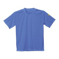 T-shirt antistatique ESD bleu hopital PORTWEST