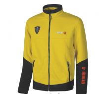 SWEAT DE TRAVAIL ZIPPÉ BICOLORE BOLETO YELLOW PEPITA U-POWER PS1
