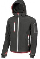 VESTE SOFT SHELL DE TRAVAIL METROPOLIS BLACK CARBON U-POWER DON'T WORRY