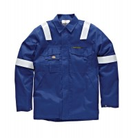 Veste de protection Dickies Pyrovatex Bleu Roi