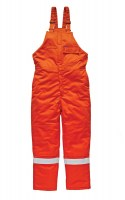 Salopette Dickies Ignifugé Pyrovatex Antistatique Orange