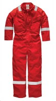 Combinaison Dickies Pyrovatex Coverall Rouge