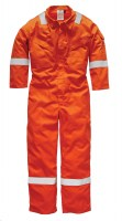 Combinaison de travail Dickies Pyrovatex Antistatique Orange