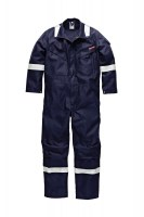 Combinaison Anti Feu Dickies Carrington Pyrovatex Antistatique Marine