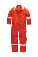 Combinaison Anti Feu Dickies Carrington Pyrovatex Antistatique Orange