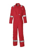 Combinaison Anti Feu Dickies Carrington Pyrovatex Antistatique Rouge