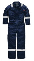 Combinaison de protection Dickies pyrovatex légère antistatique Marine