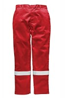 Pantalon Anti Feu Dickies Ignifugé Modacrylique Rouge