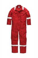 Combinaison Anti feu Dickies Nomex MHP Rouge