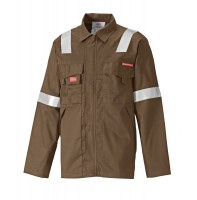 Veste de protection Dickies Aramid Antistatique 210 gsm Kaki