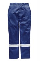 Pantalon de protection Dickies Aramid 210 gsm Antistatique Bleu Roi