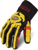 Gants Anti-coupure Dickies Impact Heavy Duty Cut 5 Noirs