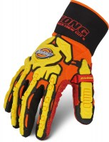 Gants Anti-Coupure Dickies Heavy Duty Transocean Deck Orange