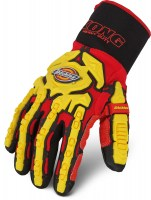 Gants Anti-coupure Dickies Impact Heavy Duty Rouge