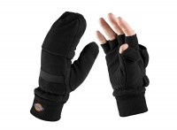 Gants de Protection Mitaines Polaires Dickies Noirs