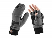 Gants de Protection Mitaines Polaires Dickies Gris