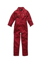 COMBINAISON DE TRAVAIL DICKIES Redhawk Junior Rouge
