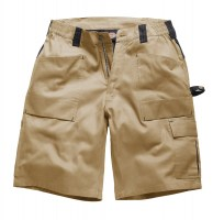 SHORT DICKIES DUO TONE 210 GR Kaki/Noir