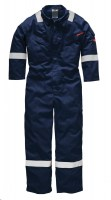 Combinaison de travail Dickies Pyrovatex Antistatique Marine