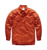 Chemise Anti Feu Dickies Modacrylique Orange