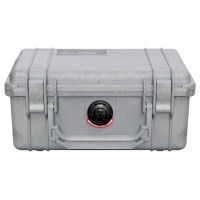 Pelicase 1150 silver with foam soluprotech
