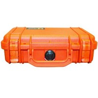 PELICASE 1170 ORANGE avec mousse Soluprotech