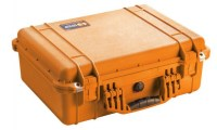 PELICASE 1520 ORANGE avec mousse Soluprotech