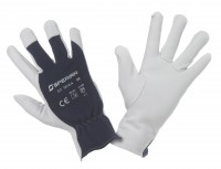 Gants de protection en cuir fleur de bovin/d'agneau/de chèvre naturel - Manutentions en milieux secs - PRECISION TEX EW, Honeywell