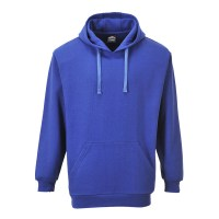 Sweat bleu royal à capuche Roma PORTWEST